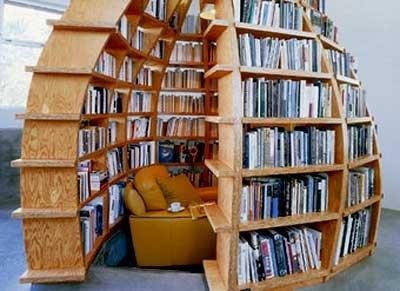 Book hideaway