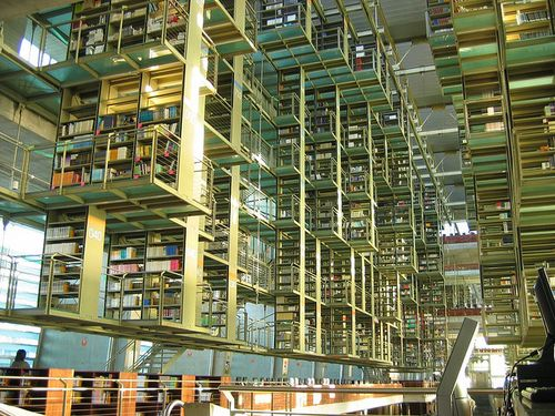Jose vasconcelos library, mex city
