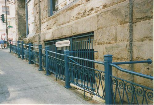 Shop sidewalk