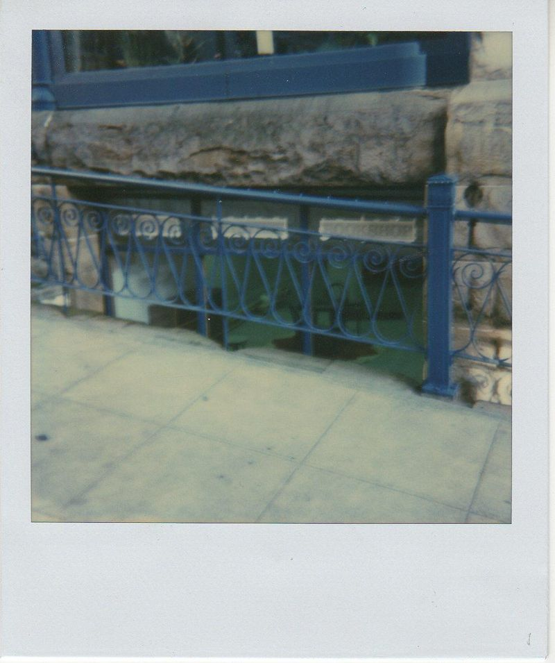 Early shop polaroid